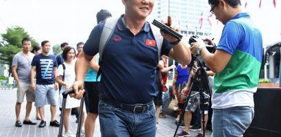 HLV Park chưa vội về Việt Nam sau trận thắng U22 Trung Quốc