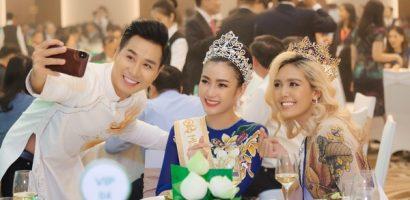 Nguyên Khang kết nối Trần Tiểu Vy cùng 4 Hoa hậu Đông Nam Á