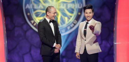 Phan Đăng ngỡ ngàng lần đầu bị 'cướp mic' trên sân khấu 'Ai là triệu phú'