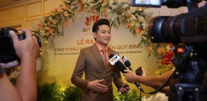 Quý Bình lên chức ông chủ, sao Việt ủng hộ hết mình