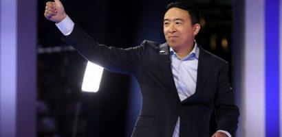 Ứng viên tổng thống gốc Á thử nghiệm cấp 1.000 USD/tháng cho dân Mỹ
