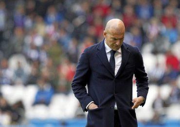 HLV Zidane không còn được ưu ái tại Real Madrid