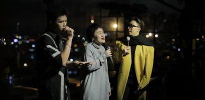 Tăng Phúc, Huỳnh Tú, Charles Huỳnh tái hiện kí ức V-Pop dưới cái lạnh của Đà Lạt