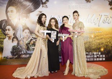 Mẹ con Lê Giang – Lê Lộc 'đội mưa' đến mừng Hồng Bảo Bảo – Hoài Sơn