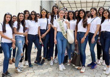 Hoa hậu Phương Khánh đến Ấn Độ chấm thi nhan sắc