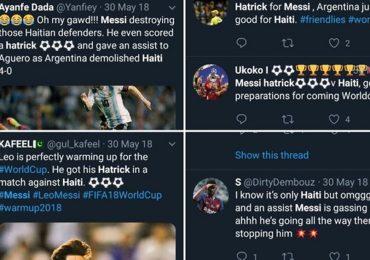 Fan Messi chế nhạo Ronaldo vì lập poker vào lưới đội yếu