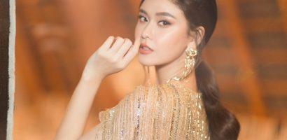 Trương Quỳnh Anh đẹp lộng lẫy với sắc vàng