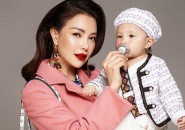 Trà Ngọc Hằng và con gái 1 tuổi xứng danh 'mẹ con thời trang của showbiz'