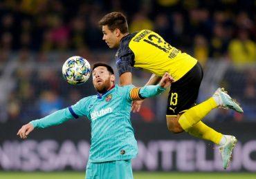 Messi nhạt nhòa trong ngày Barca gặp khó trước Dortmund