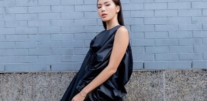 Minh Tú lúc lạnh lùng cá tính, lúc dịu dàng tại Tuần lễ thời trang quốc tế New York
