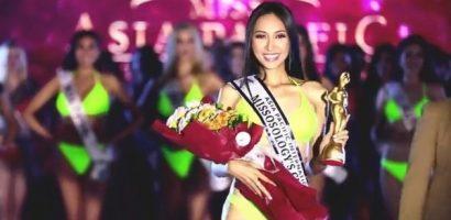 Thu Hiền được bình chọn nhiều nhất tại Miss Asia Pacific International 2019