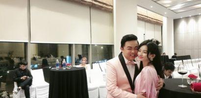 Vừa lên chức bố chồng ở tuổi 39, Quang Lê lộ ảnh thân mật với hotgirl kém 13 tuổi