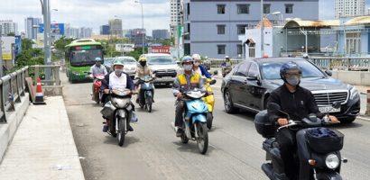 Cầu Kênh Tẻ mở rộng gần 2 m, dân Nam Sài Gòn có thoát cảnh kẹt xe?