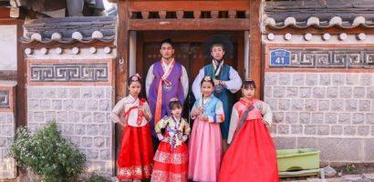 Hải Triều diện hanbok, đẹp không thua kém trai Hàn