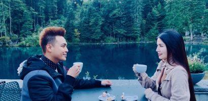 Vợ chồng Kha Ly – Thanh Duy ghé thăm 'thiên đường có thật' tại Thụy Sỹ