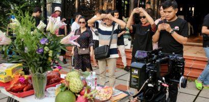 Ê-kíp web-drama 'Ma' cúng khai máy, bắt đầu thực hiện dự án