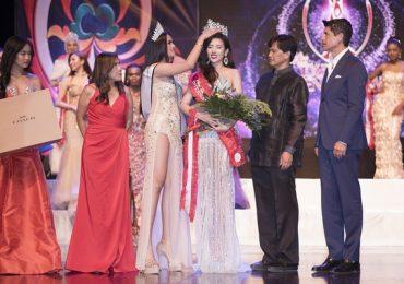 Dương Yến Nhung đăng quang 'Hoa hậu Du lịch Quốc tế 2019'