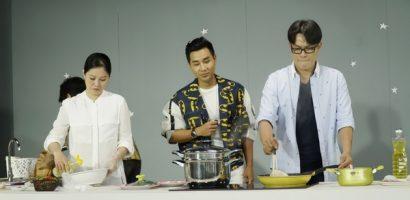 Nghệ sĩ Việt khoe tài bếp núc trong gameshow 'Bản sao hoàn hảo'