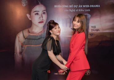 Nam Thư gây chú ý với sắc đỏ, hợp tác làm phim với 'đàn chị' Kiều Linh