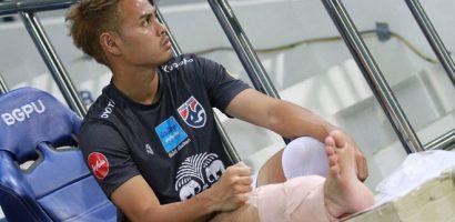 Thêm trụ cột Thái Lan chấn thương trước trận gặp UAE
