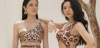 Mỹ Huyền và Trương Lynh rủ nhau diện bikini khoe body bốc lửa