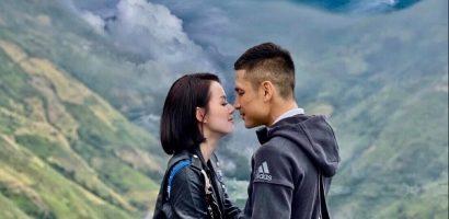 Vợ chồng Tâm Tít chinh phục 'đại dương mây' Tà Xùa