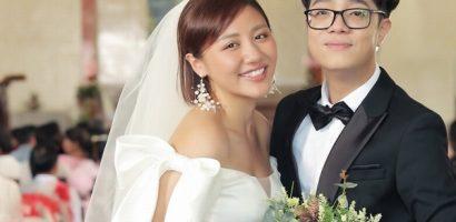 Văn Mai Hương và Bùi Anh Tuấn đám cưới trong MV mới