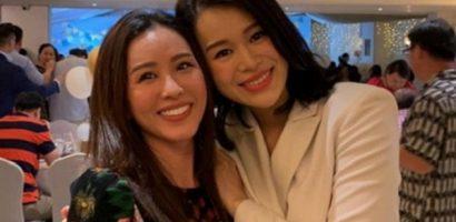 Hoa hậu Thu Hoài cùng bạn trai vui vẻ hội ngộ vợ chồng ngôi sao TVB Hồ Hạnh Nhi nhân dịp đặc biệt