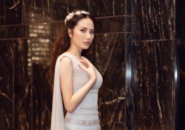 Hoa hậu Diệu Linh đẹp tựa 'nữ thần' thôi miên người nhìn
