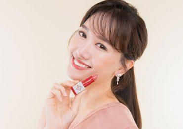 Hari Won trở thành đại sứ thương hiệu của dòng son Belle & New