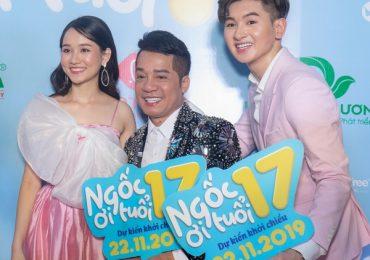 Nghệ sĩ Minh Nhí đến chúc mừng con trai nuôi ra mắt phim đầu tay