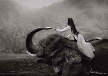Á hậu Trương Thị May hoá thân thành Trưng Trắc chụp ảnh gây quỹ từ thiện