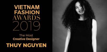 Thuỷ Nguyễn được xướng tên tại hạng mục 'Nhà thiết kế có tính sáng tạo đột phá'