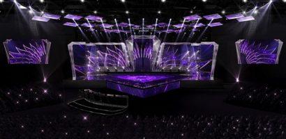 Sân khấu chuẩn quốc tế cho chung kết 'Hoa hậu hoàn vũ Việt Nam 2019'