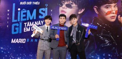 Hồ Quang Hiếu đến chúc mừng Mario Band chính thức debut