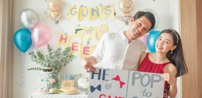 Quang Tuấn – Linh Phi công bố giới tính con đầu lòng