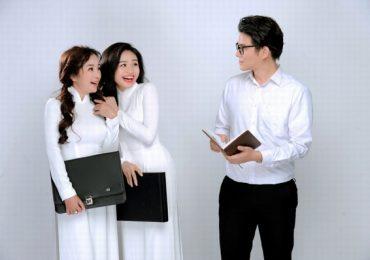 Thúy Nga và MC Vũ Mạnh Cường thay phiên nhau 'chỉ dạy' Lê Lộc