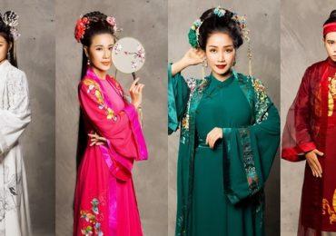 Hồng Vân nhờ con nuôi chuẩn bị trang phục cho dàn nghệ sĩ trẻ diễn kịch 'Ngẫm Kiều'