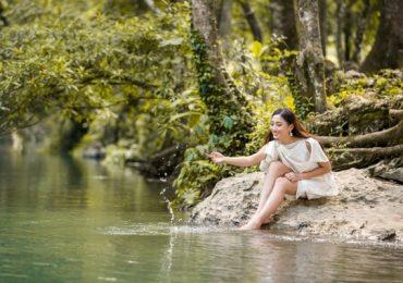 Hoa hậu Lương Thùy Linh hóa thiếu nữ dân tộc Tày trong clip gửi tới Miss World 2019