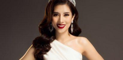 Hoa hậu Dương Yến Nhung thôi miên người nhìn trong bộ ảnh mới