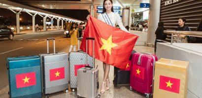 Lương Thùy Linh lên đường thi Miss World 2019