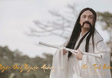 Lam Trường 'lạ lẫm' với hình ảnh ông lão trong dự án mới của Phương Thanh