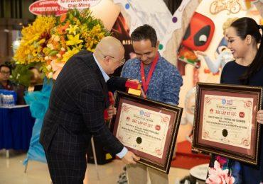 Xác lập kỷ lục 'Cây thông Funko POP!' lớn nhất Việt Nam tại lễ hội 'Toysphere Fun Fest 2019'