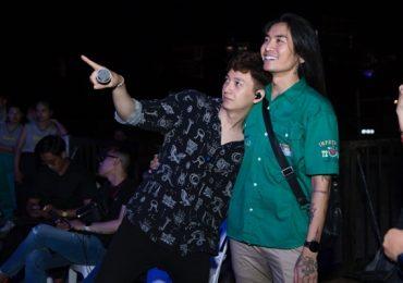 BB Trần bất ngờ xuất hiện trong buổi tổng duyệt liveshow Ngô Kiến Huy