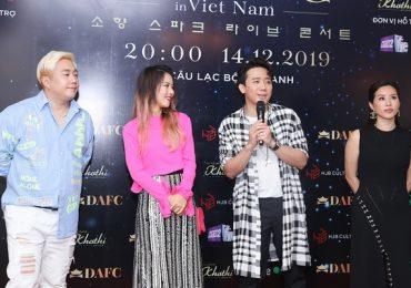 Hoa hậu Thu Hoài vui vẻ trò chuyện, đọ sắc cùng Diva Hàn Quốc So Hyang