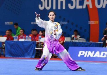 Nhan sắc nữ VĐV giành huy chương vàng wushu cho Phillippines