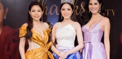 Diễn viên Kim Thanh Thảo đọ sắc với Hoa hậu Lê Bảo Tuyền và Hoàng Hạnh tại sự kiện