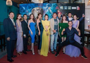 Hạ Anh, Lily Luta, Phi Huyền Trang, Mai Hàn đọ sắc trên thảm đỏ ra mắt phim 'Bí mật đảo Linh Xà'