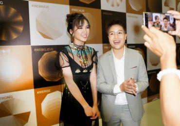 Vợ chồng Tú Tri – YunBin tình tứ dự sự kiện