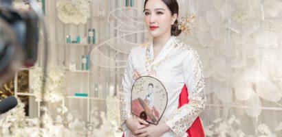 Bảo Thy diện trang phục Hanbok gây chú ý với nhan sắc thăng hạng sau hôn nhân